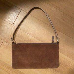 Vintage suede Kate spade bag. Made in Italy